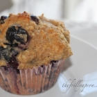 [Recipe] Oatmeal Blueberry Muffins