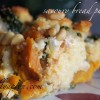 [Recipe] Savoury Bread Pudding with Cornbread and Squash