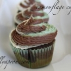 [Recipe] Camouflage Cupcakes