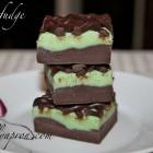 [Recipe] 5-Minute Chocolate Mint Ribbon Fudge