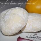 [Recipe] Gluten-Free Lemon Drop Shortbread Cookies