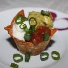 [Recipe] Guacamole and Taco Cups