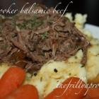 [Recipe] Slow Cooker Balsamic Beef