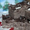 [Recipe] Thin Mint Cookie Fudge