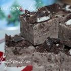 [Recipe] Thin Mint Cookie Fudge