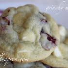 [Recipe] Cindy-Lou's Grinchy Who-Wuzzles (Pistachio, White Chocolate, and Cranberry Cookies)