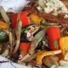[Recipe] Grilled Vegetable Salad with Lemon Herb Vinaigrette