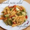 [Recipe] Tangy Vegetable Pasta Salad