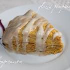 Welcome October! [Recipe] Glazed Pumpkin Scones