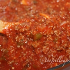 12 Frilly Days of Christmas, Day 9: [Recipe] Meat Sauce