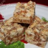 12 Frilly Days of Christmas, Day 10: [Recipe] Ritzy Toffee Squares