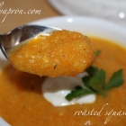 12 Frilly Days of Christmas, Day 4: [Recipe] Roasted Butternut Squash Soup