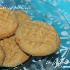 12 Frilly Days of Christmas 2015, Day 5: [Recipe] Wow! Butter (or Peanut Butter) Sparkle Cookies