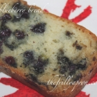 12 Days of Christmas 2017, Day 1: [Recipe] Lemon Blueberry Bread