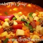 [Recipe] Hamburger Soup
