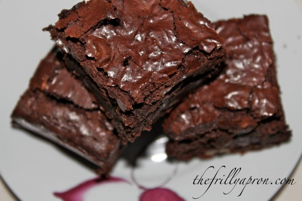 Gluten Free Brownies | The Frilly Apron