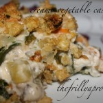 creamy vegetable casserole