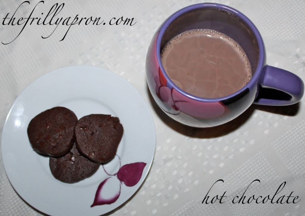 hot chocolate cover