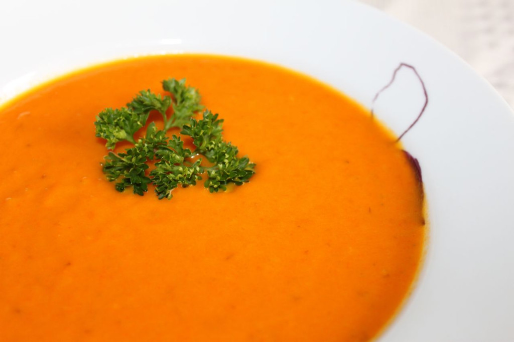 carrot soup cover