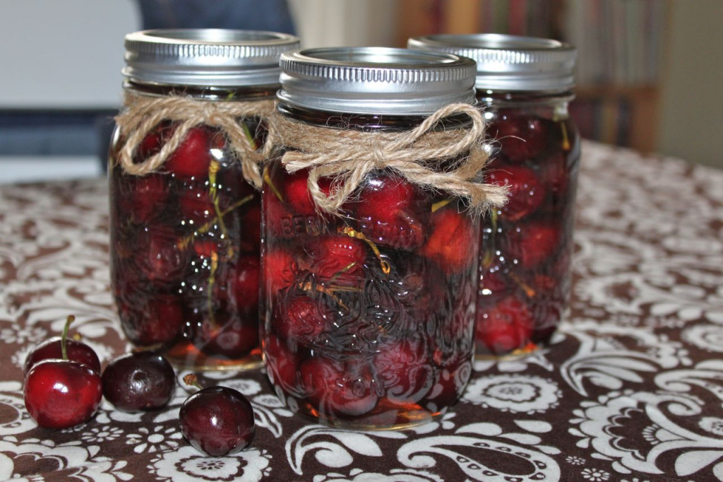 Boozy Bourbon Soaked Cherries Cover 2
