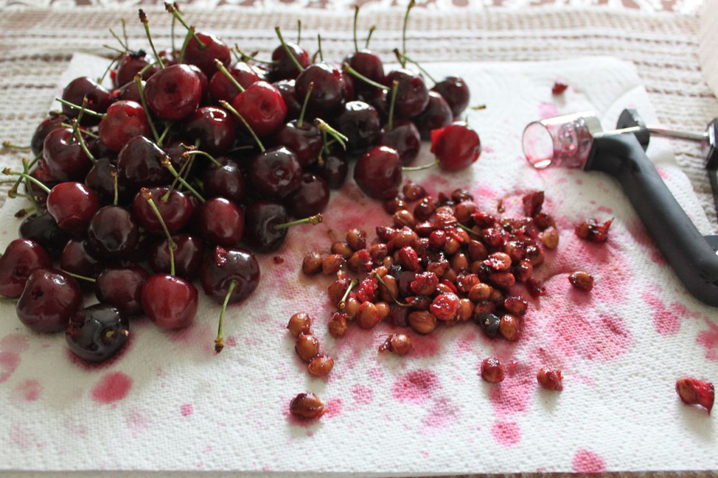 boozy bourbon soaked cherries 8
