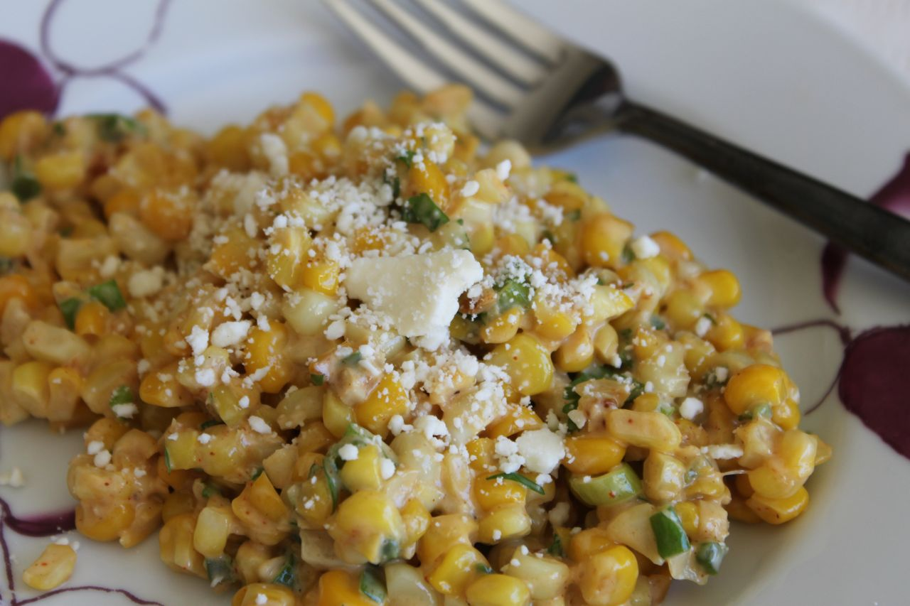 Recipe] Esquites (Mexican Corn Salad)   The Frilly Apron