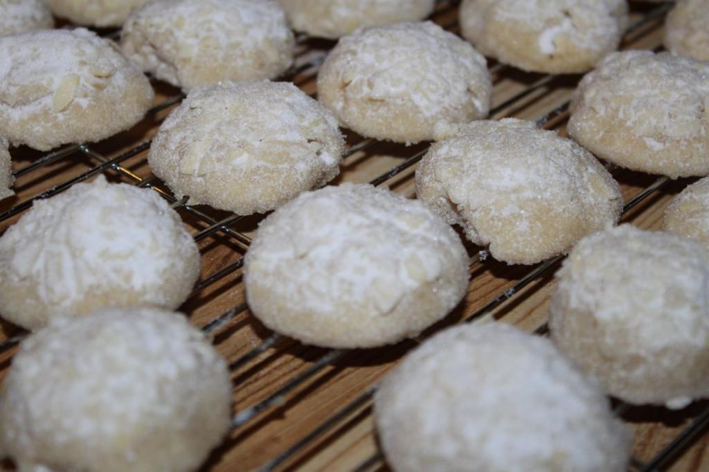 gf almond crescents