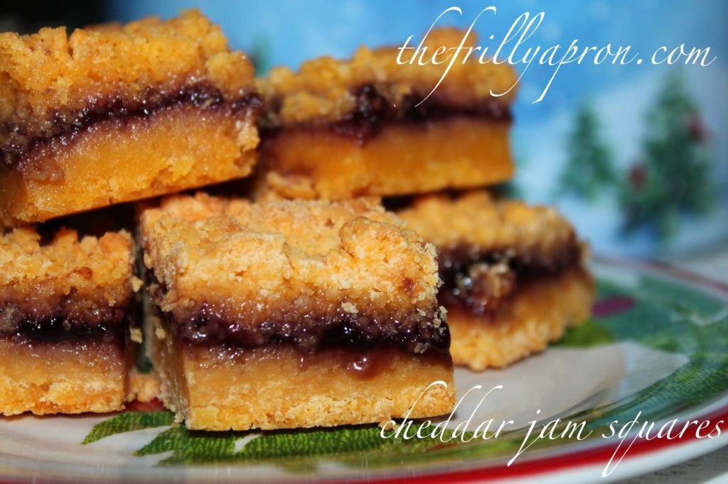 maclaren's cheddar jam squares cover