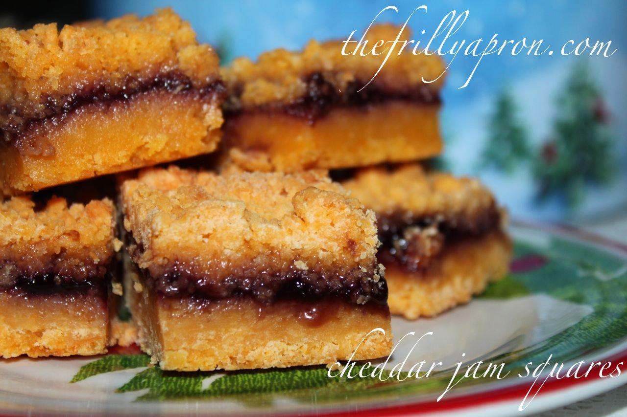 [Recipe] MacLaren's Cheddar Jam Squares