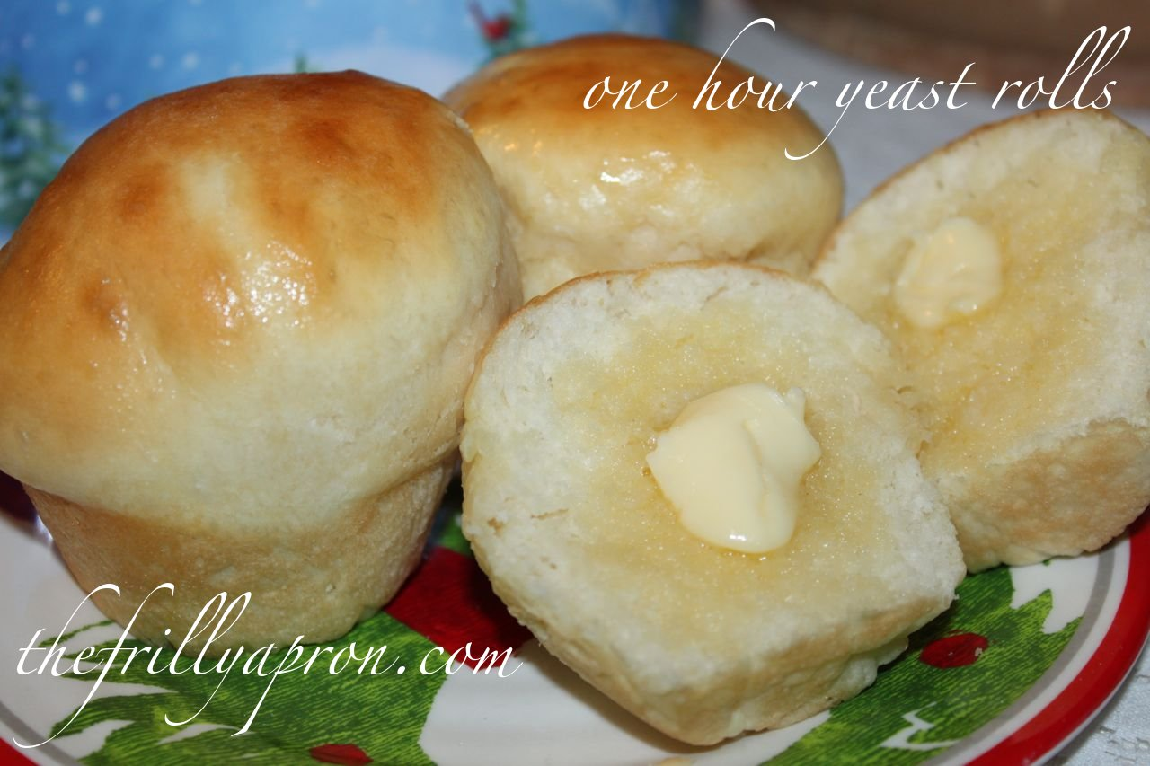 [Recipe] One Hour Yeast Rolls