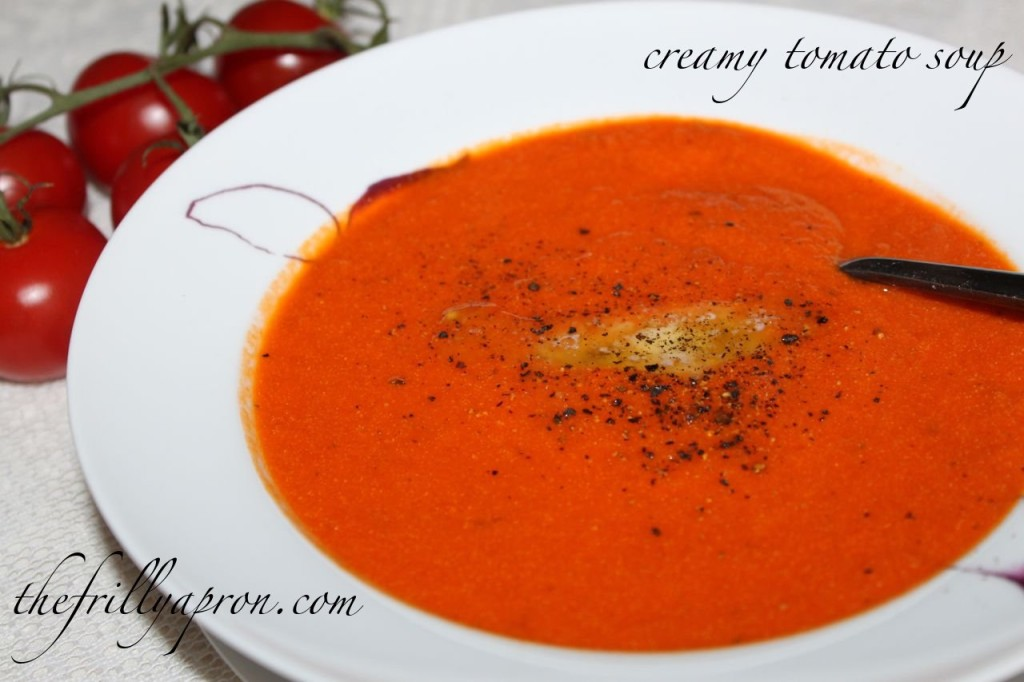 tomato soup cover