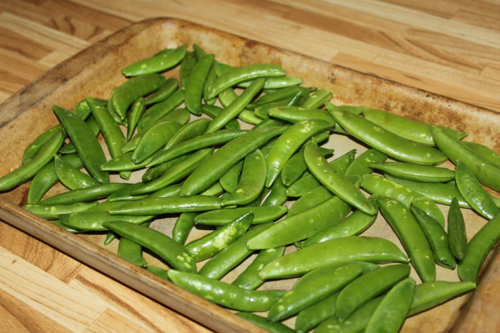 sugar snap peas 2