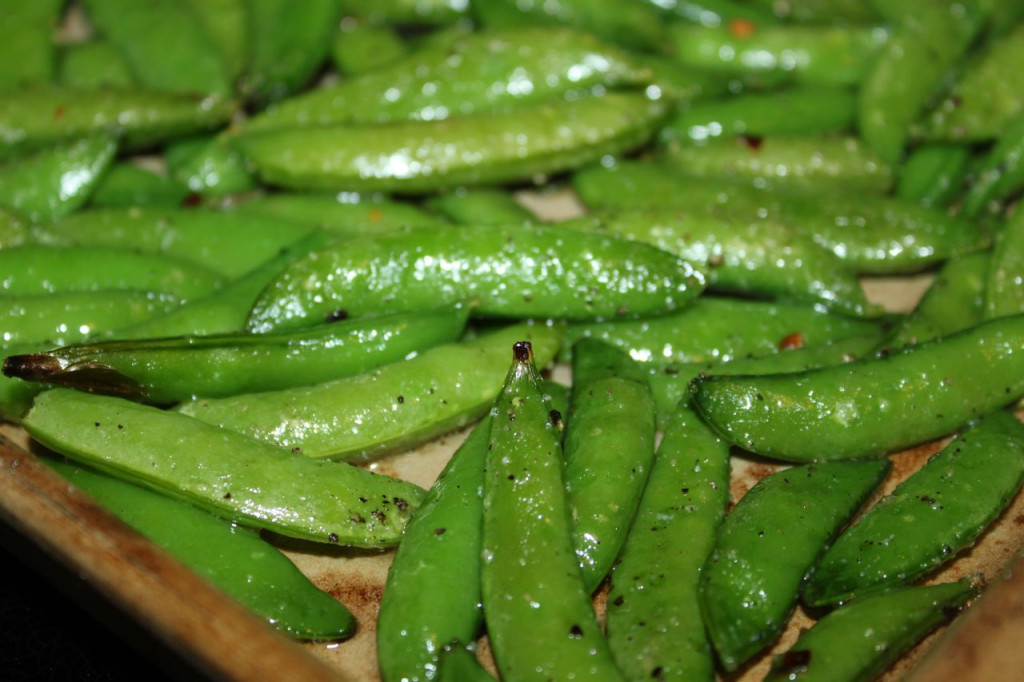 sugar snap peas 4