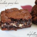 triple chocolate gooey bars