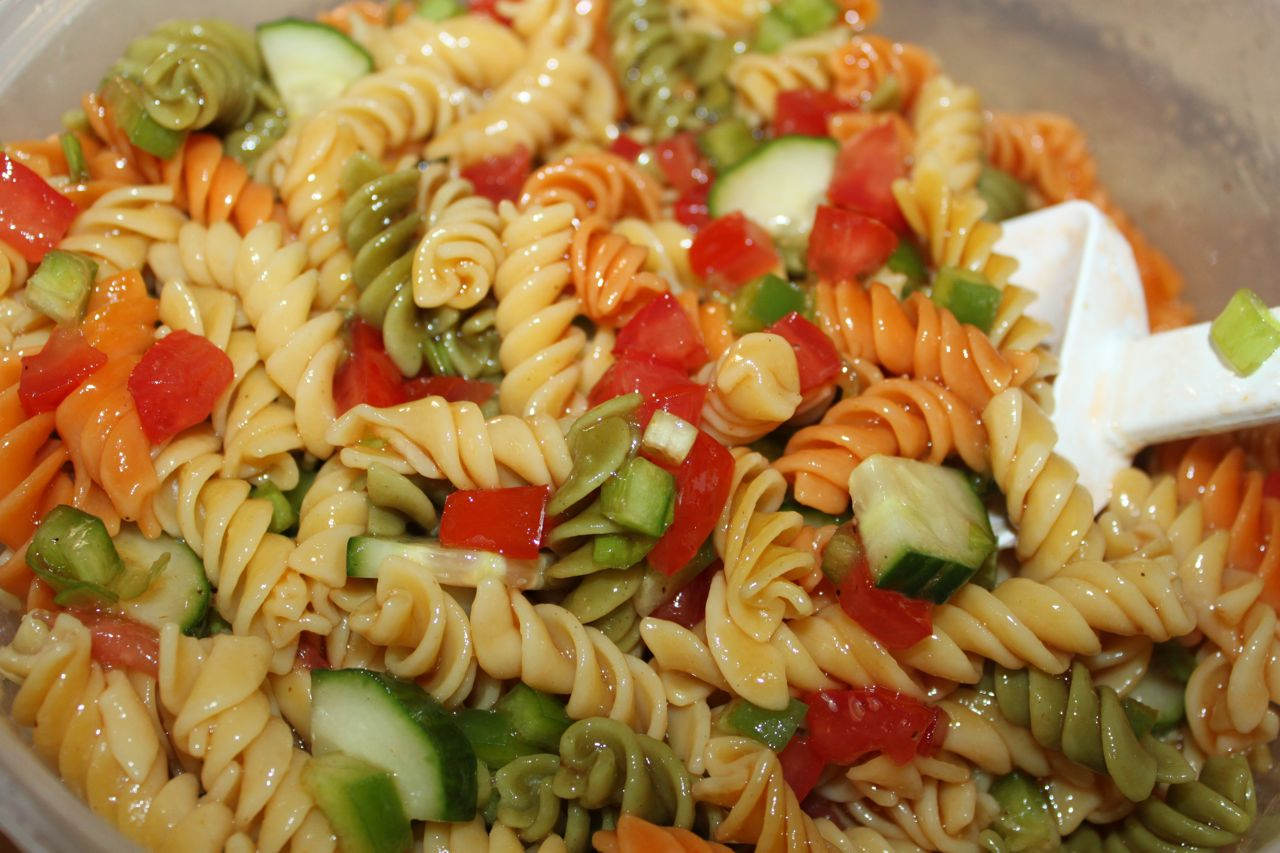 Recipe Tangy Vegetable Pasta Salad