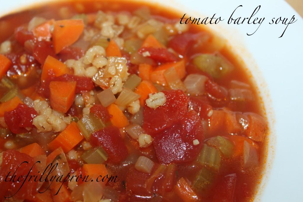tomato barley cover
