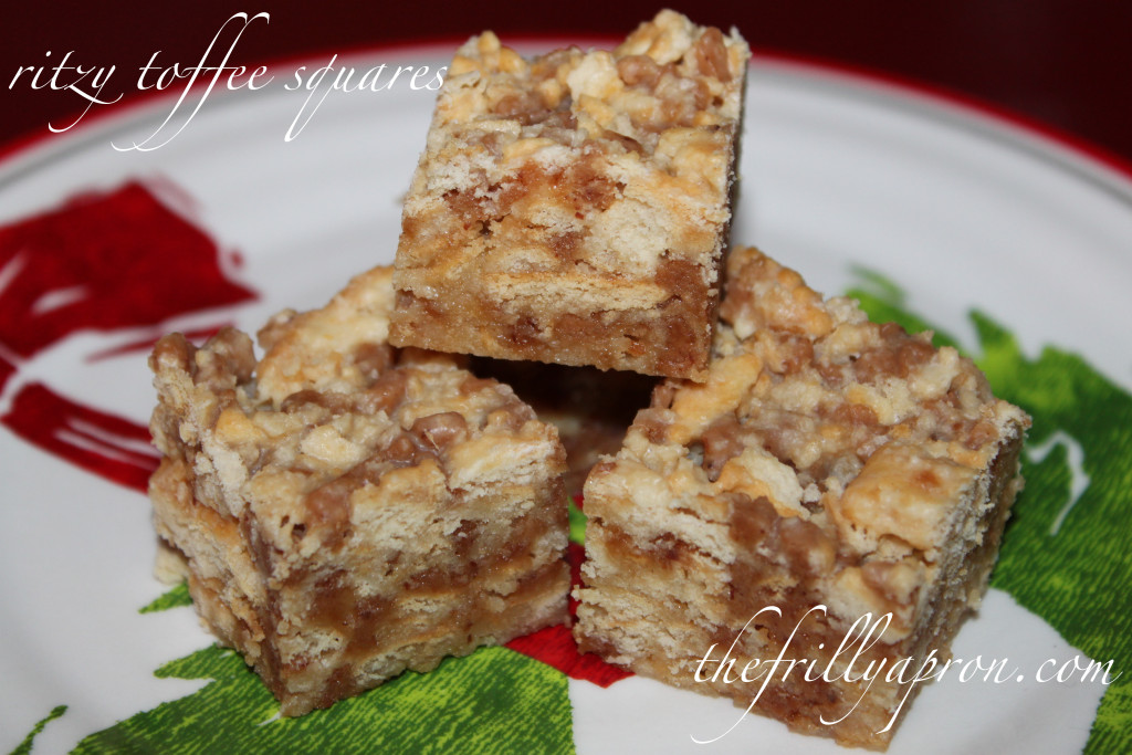 ritzy toffee squares cover